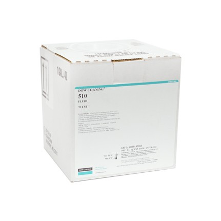 Dow Corning 510 50 CST Silicone Fluid Clear 3.6 kg Pail