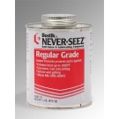 Bostik Never-Seez Regular Grade Anti-Seize Lubricant Brush Top Silver 1 lb Can