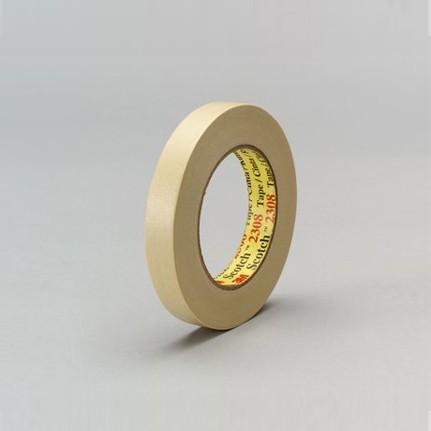 3M 2308 Performance Masking Tape Tan 36 mm x 55 m Roll