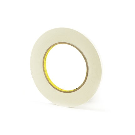 3M 256 Printable Flatback Paper Tape White 0.25 in x 60 yd Roll