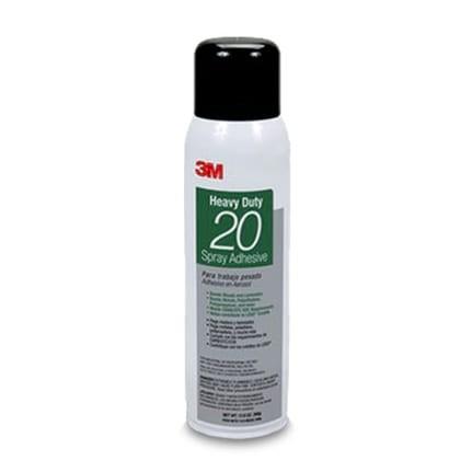 3M Heavy Duty 20 Spray Adhesive Clear 13.8 oz Aerosol
