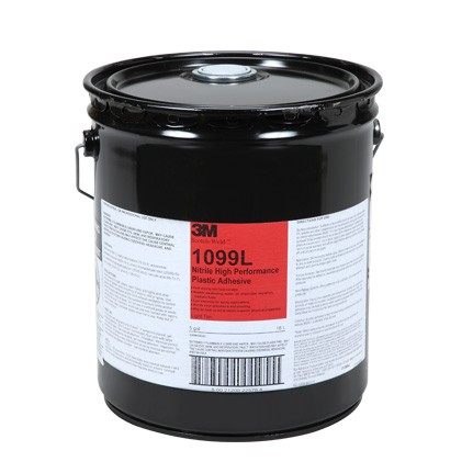 3M 1099L Nitrile High Performance Plastic Adhesive Tan 5 gal Pail