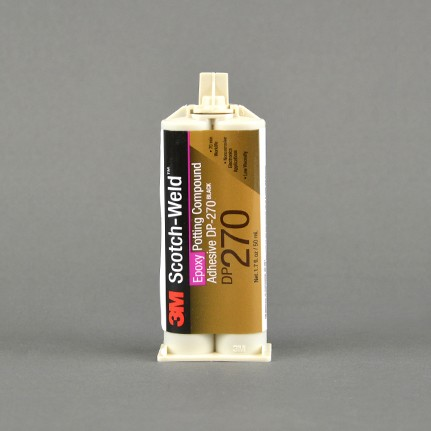 3M Scotch-Weld DP270 Epoxy Potting Compound Black 1.7 oz Duo-Pak Cartridge