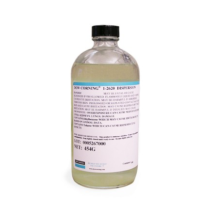 Dow Corning 1-2620 Dispersion RTV Silicone Conformal Coating Clear 454 g Bottle