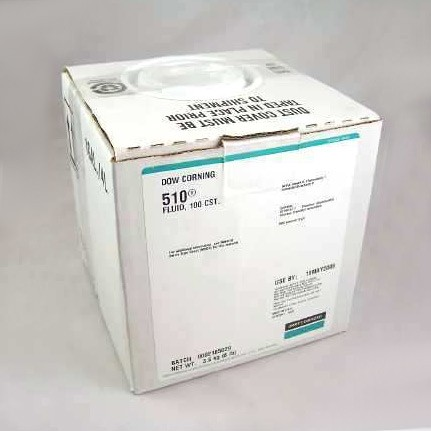 Dow Corning 510 100 CST Silicone Fluid Clear 3.6 kg Pail`